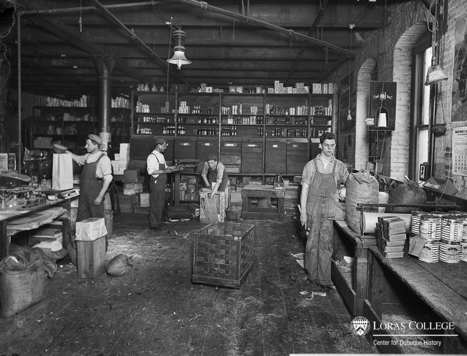 Grocery warehouse, 1912