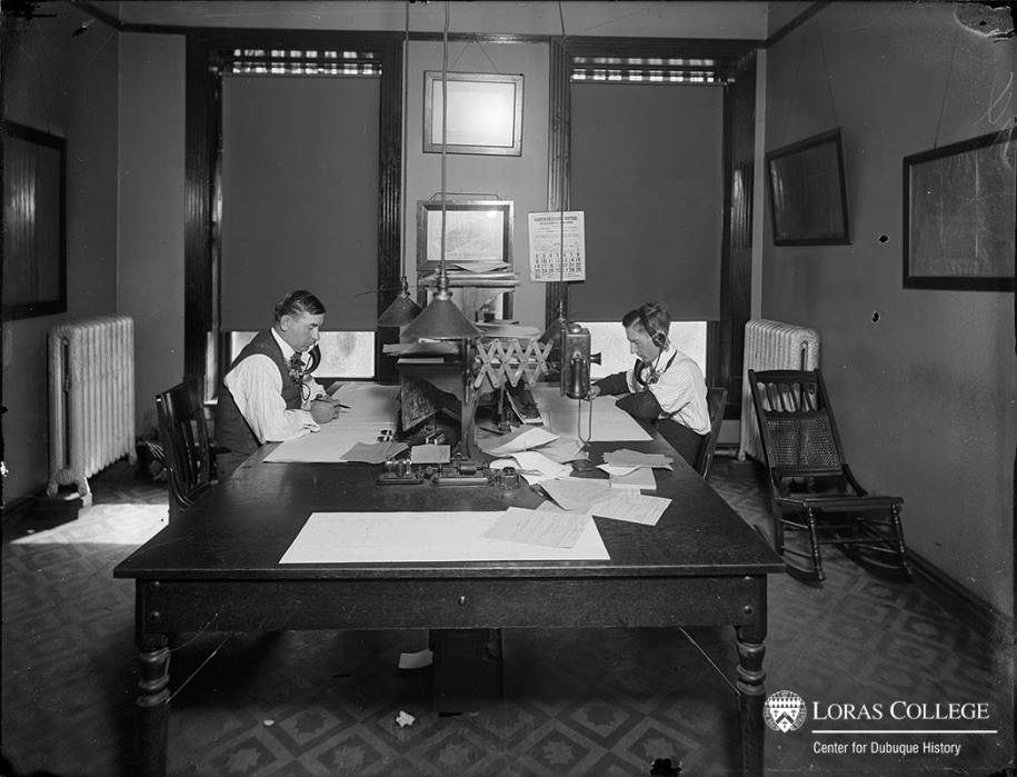 Office, B&I Building, 1912
