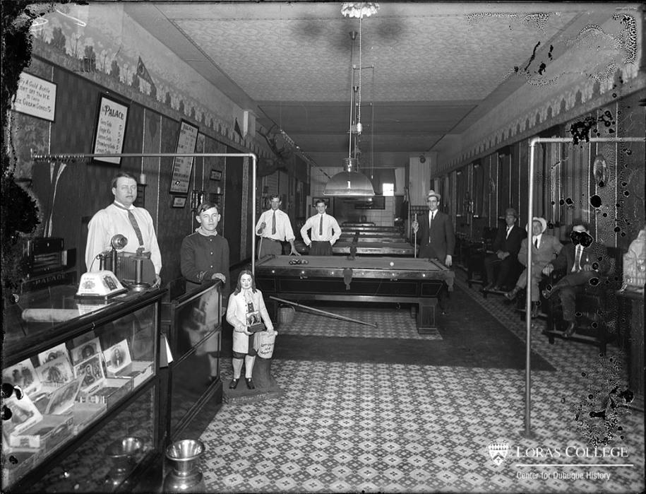 Pool Hall, 1912