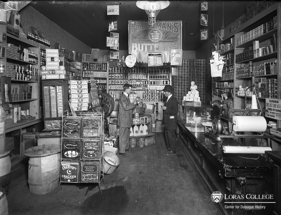 Grocery store, 1912