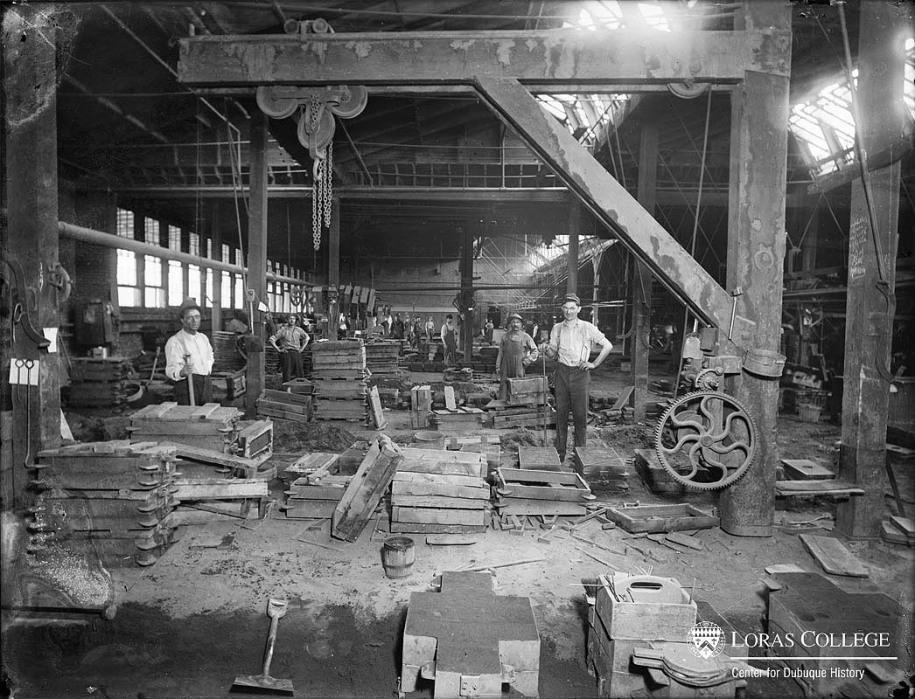 Adams Co. Foundry, 1912