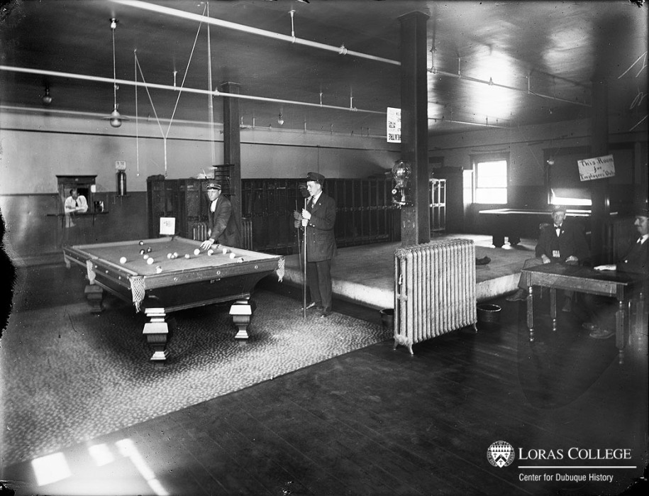 Union Electric conductor's lounge, 1912