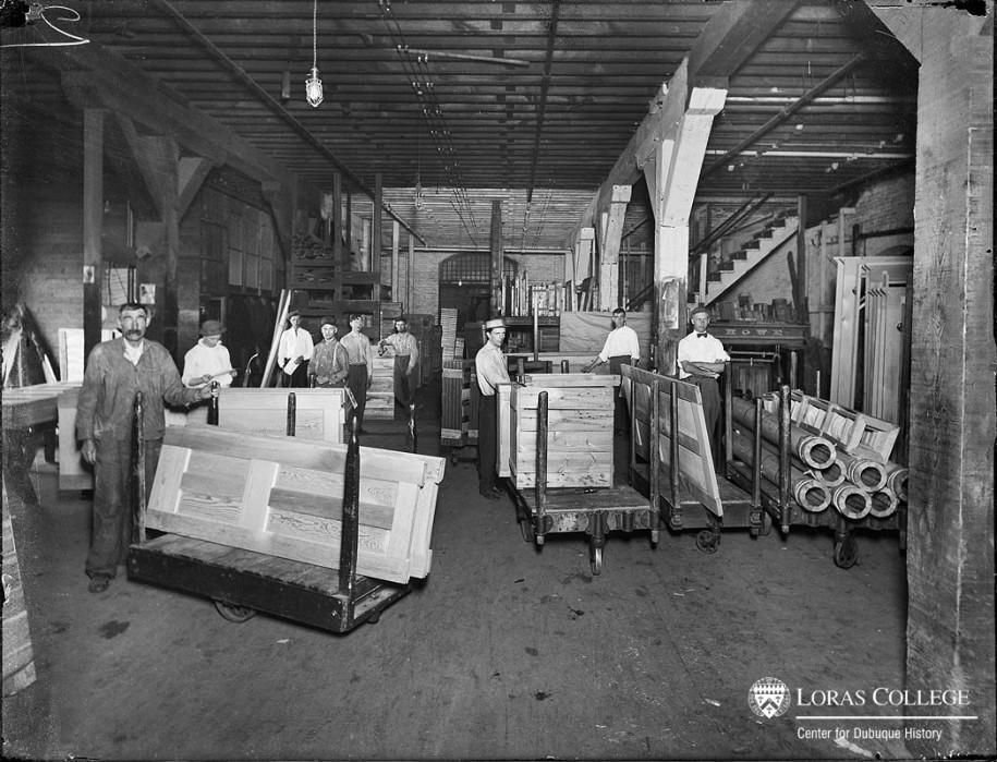 Carr Ryder Adams & Co., shipping & receiving, 1912