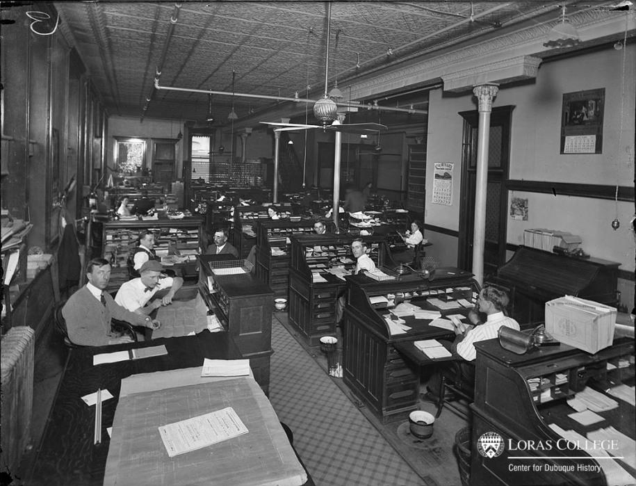 Carr Ryder & Adams Co., Office, 1912