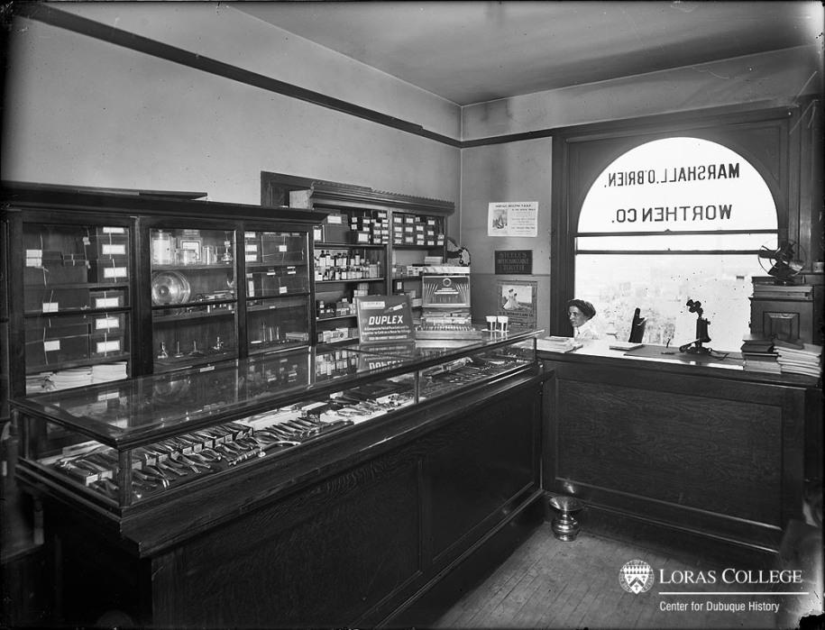 Worthen Co., Dental Supply, 1912