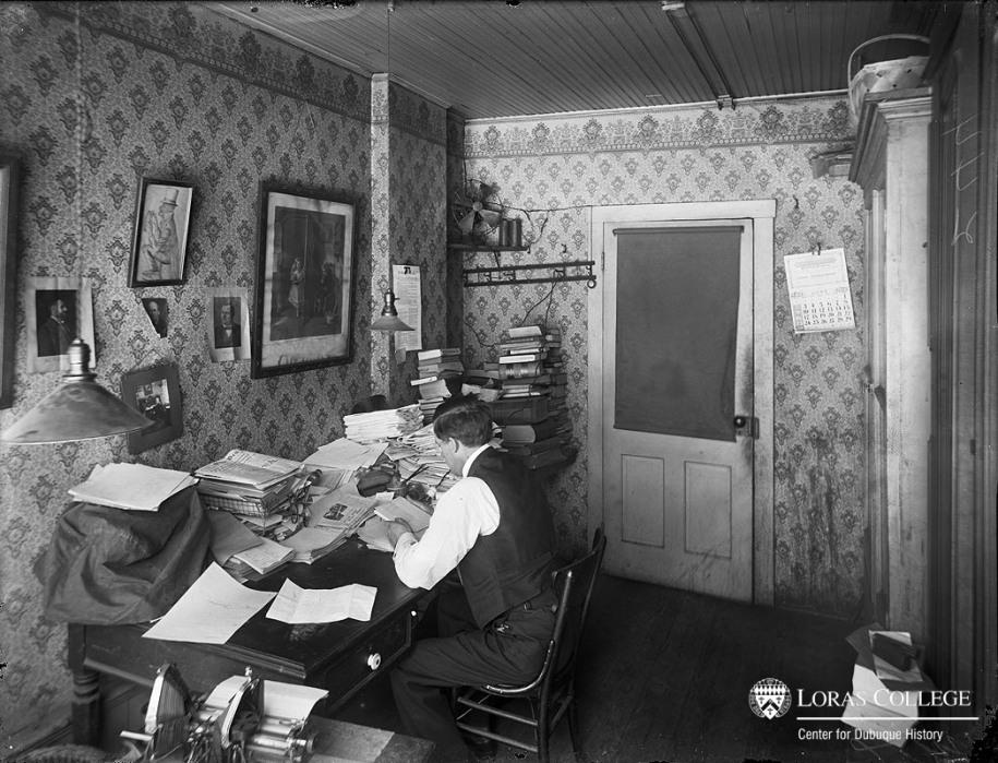 Louis Murphy, Editor, Telegraph Herald, 1912