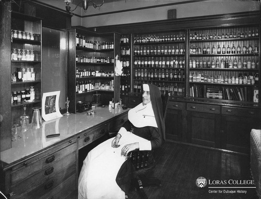 Mercy Hospital Pharmacy, 1912