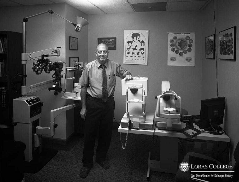 Dr. Doug Spyrison, optometrist, 2012