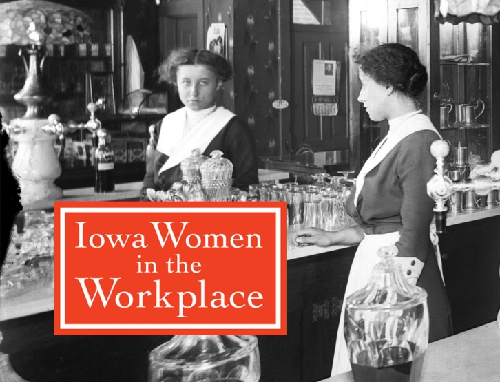 "This gallery recreates a 1984 exhibit titled ""Iowa Women in the Workplace."" The exhibit, curated by Mary Allison Farley, traveled Iowa for three years. The exhibit and text were also adapted into an article for The Palmpest, Volume 67, Number 1, January/February 1986."
